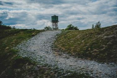 Der Weg zum Turm