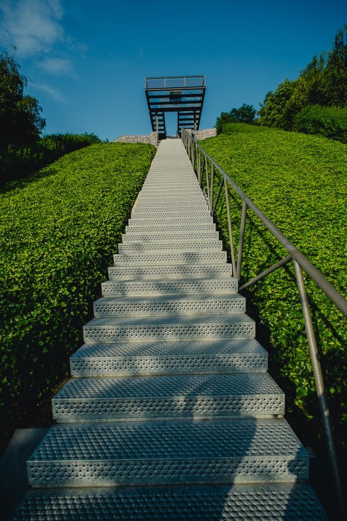 Treppe gen Himmel