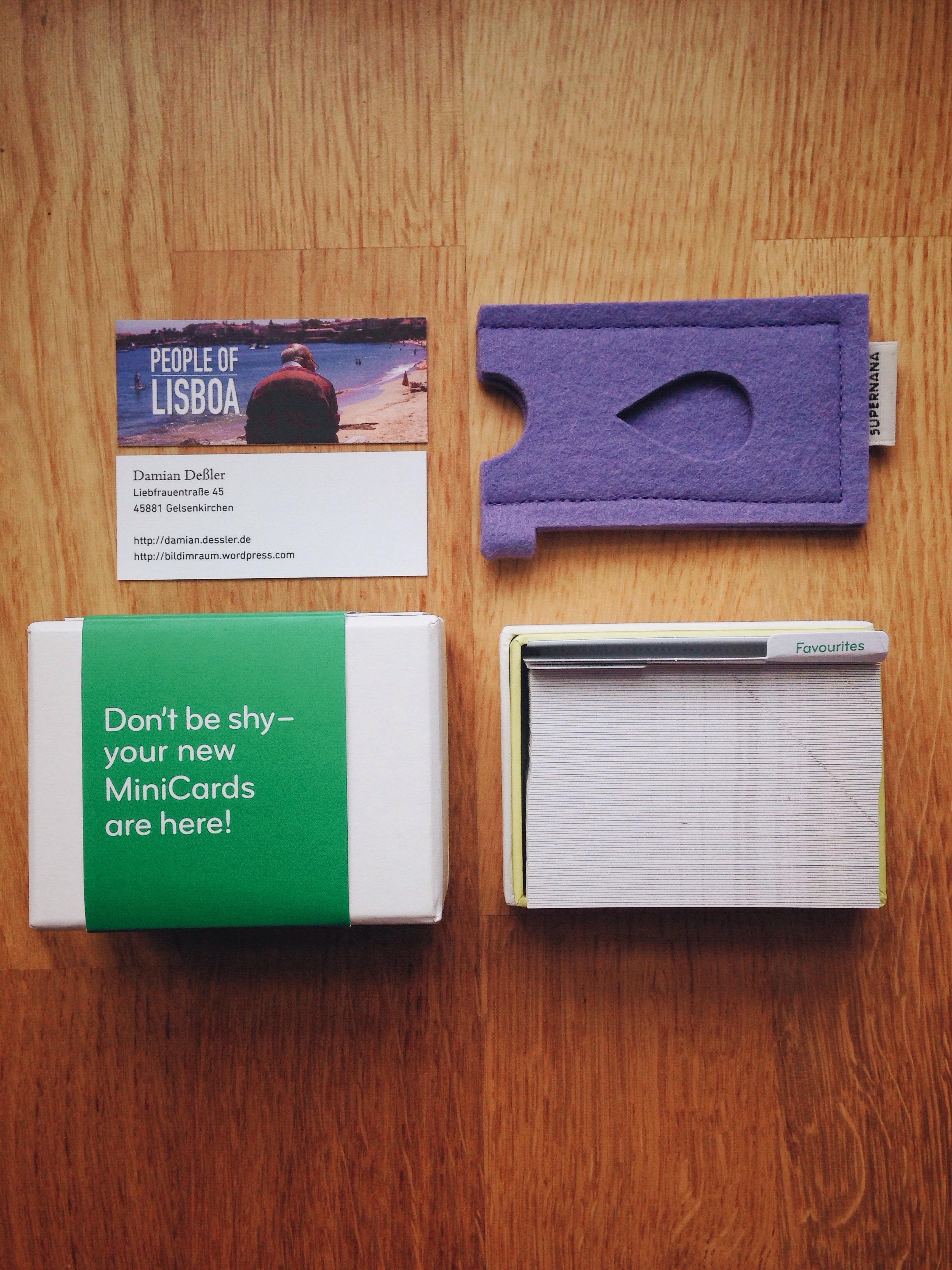 People Of Lisboa Moo Minicards Sind Da Damian Dessler
